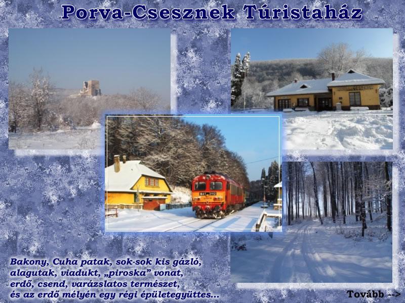 Porva-Csesznek turistaház